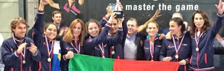 Campeonato Europa Padel 2015 - Portugal campeão em femininos